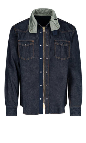 Sacai Zip-Up Western Shirt