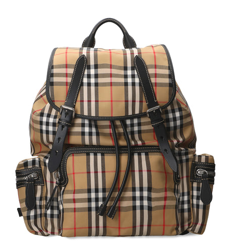 Burberry Vintage Chack Doble Buckle Ruckpack