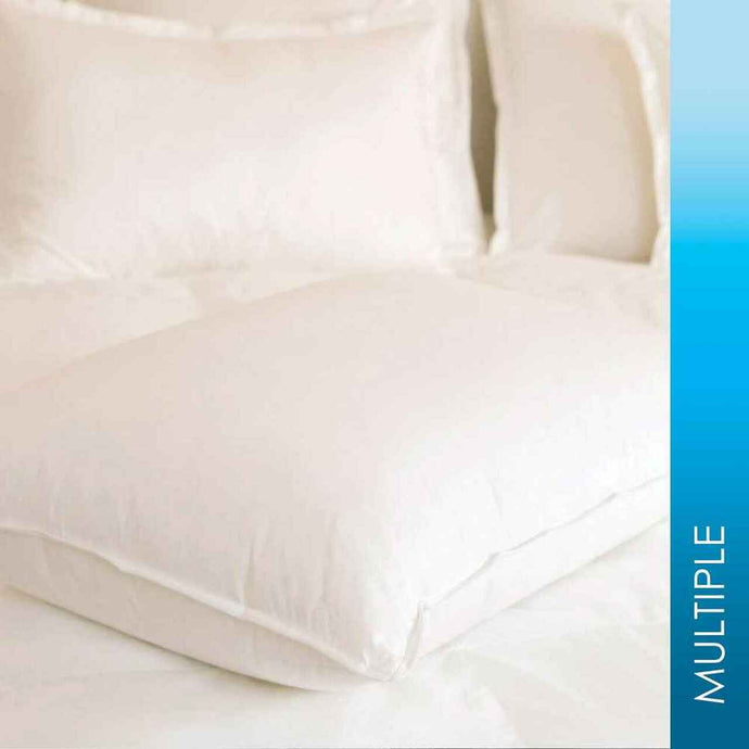 White Duck Down & Feather Blend Pillow 25/75