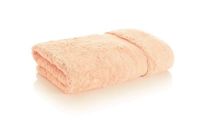 best bamboo towels in coral color