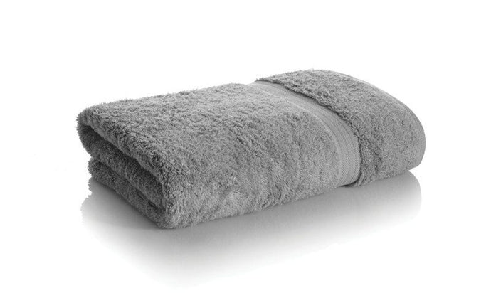 grey bamboo towels