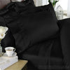Black Bamboo Duvet Cover Set