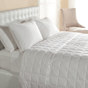230 TC DOWN BLANKETS WITH SATIN TRIM - SleepBamboo Sheets