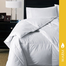 Load image into Gallery viewer, White Down Luxury Comforter