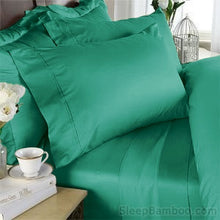 Load image into Gallery viewer, Emerald Bamboo Duvet Cover Set