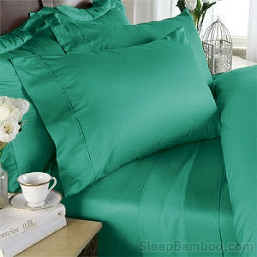 Emerald Bamboo Duvet Cover Set - SleepBamboo Sheets