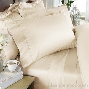 Ivory Bamboo Sheets