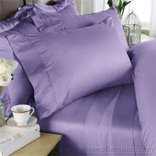 Load image into Gallery viewer, Lavender Bamboo Sheets