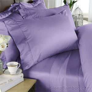 Lavender Bamboo Duvet Cover Set - SleepBamboo Sheets