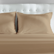 Load image into Gallery viewer, Nougat Bamboo Duvet Cover Set