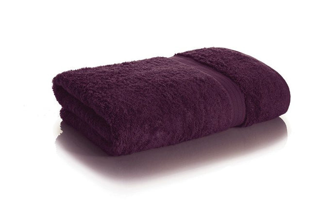 Bamboo Towel Set - Orchid Purple