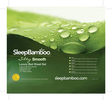 Load image into Gallery viewer, California King Size Bamboo Sheets - SleepBamboo Sheets