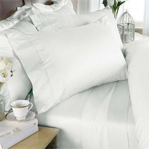 White Bamboo Pillowcase Set (2)