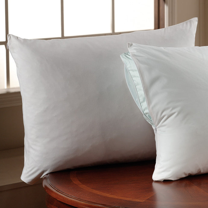 375 TC COTTON TWILL PILLOW PROTECTOR - SleepBamboo Sheets