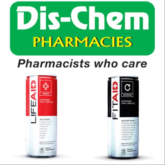 LIFEAID & FITAID Available at Dischem