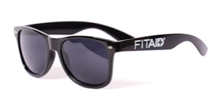 BLACK FITAID SUNGLASSES