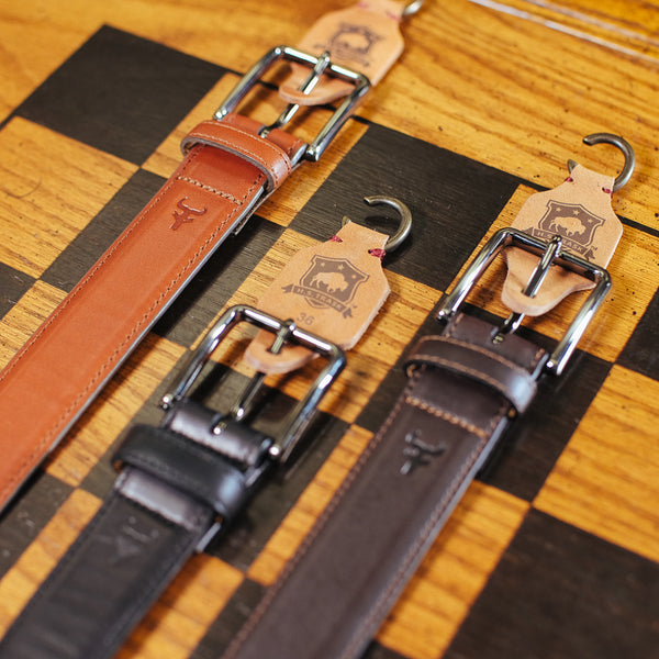 Flint Leather Belt