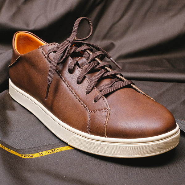 Kahu Pahāha Leather Sneakers