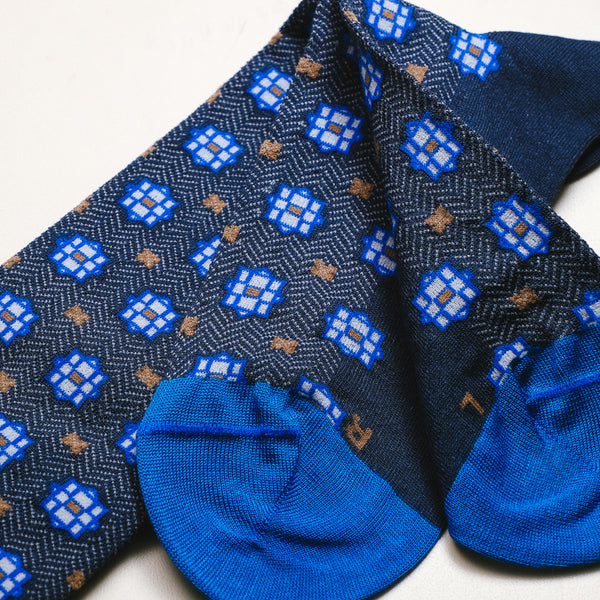 Octagram Pattern Socks