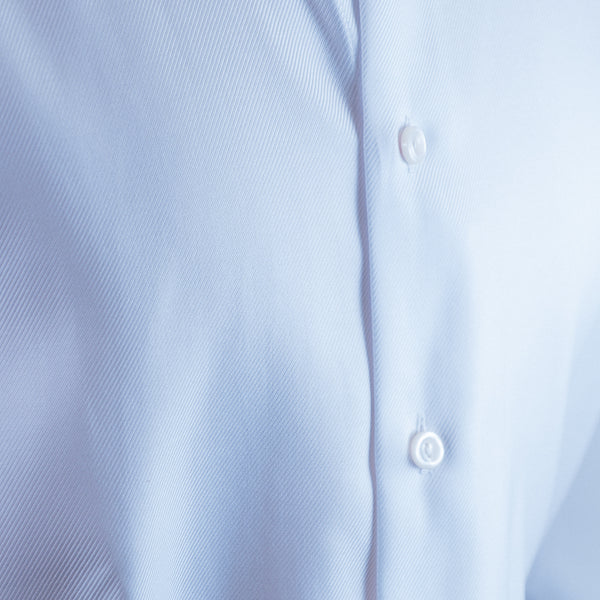 Solid White Twill Shirt