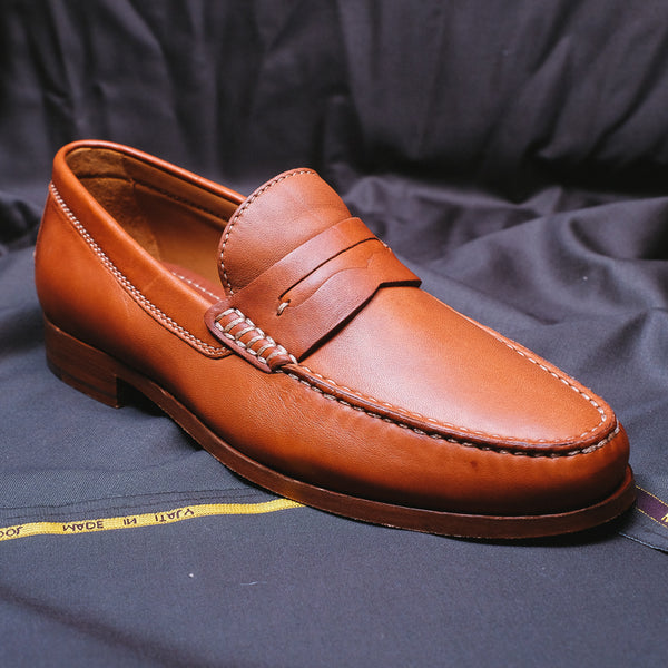 Cognac Sadler Loafer