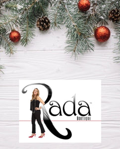 Holiday Gift Guide at Rada Boutique