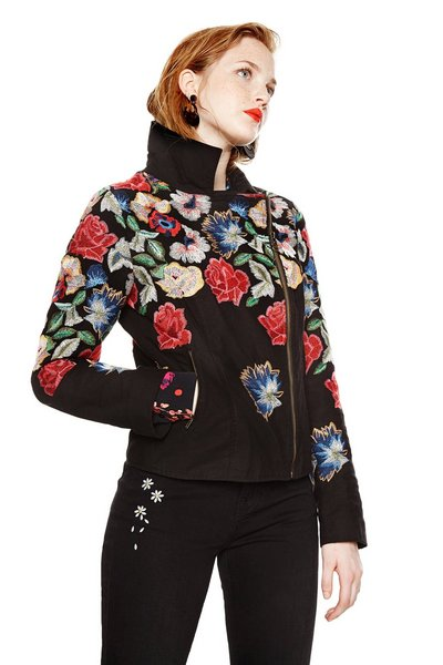 Desigual Embroidered Jacket