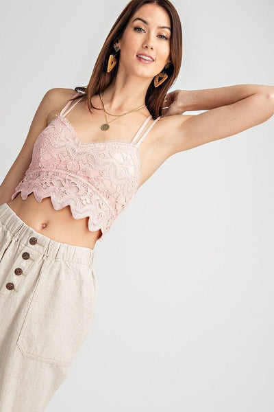 Crochet Laced Bralette Top