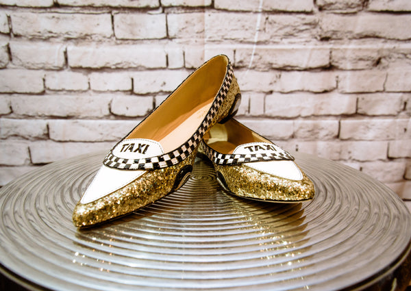 SOLD Kate Spade Size 7.5 Taxi Flats