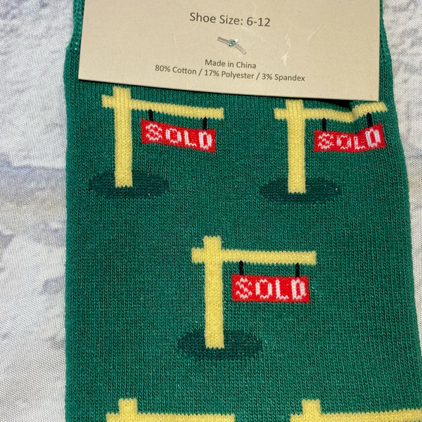 """Sold"" Socks"