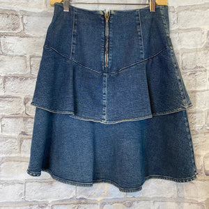 CHANEL Denim Skirt