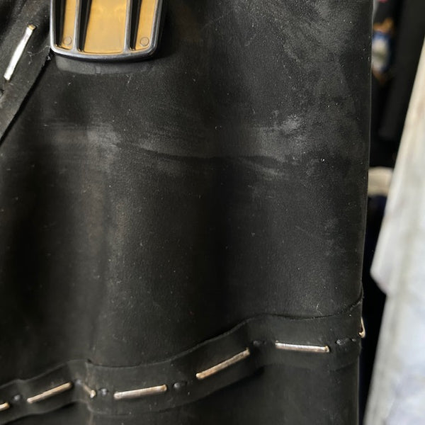 Yves Saint Laurent Leather Skirt