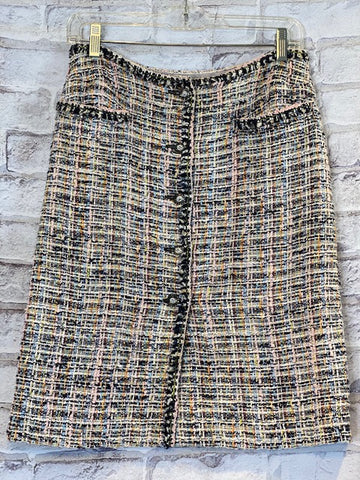 Classic Chanel Tweed Skirt