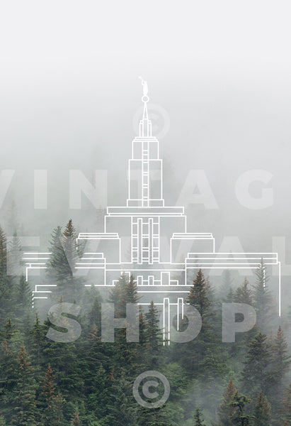 Draper Temple | Wasatch Mountain Print