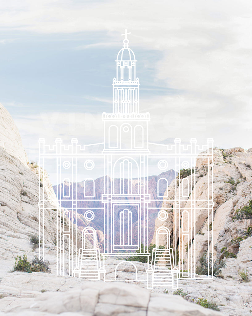 St. George Temple | Snow Canyon  DIGITAL DOWNLOAD
