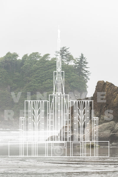 Seattle Temple | Coast Print