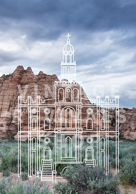 St. George Temple | Zion  Print