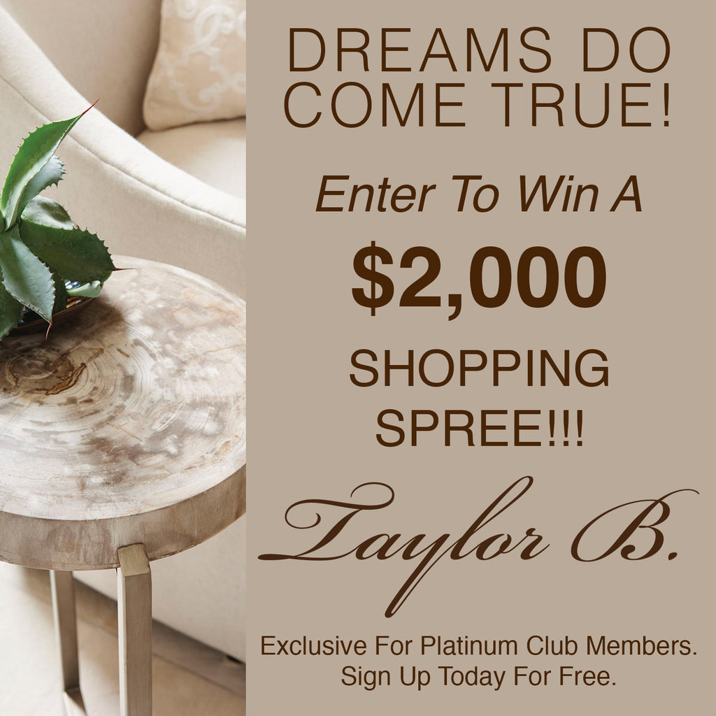 Have you signed up to be a Taylor B Platinum Club Member yet?