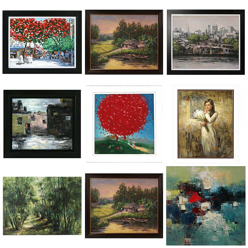 For All the Art Lovers: Finest Oil Paintings Now Available