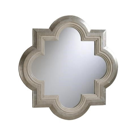 taylor b furniture store quatrefoil shape mirror