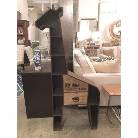 taylor b furniture store wood giraffe cabinet