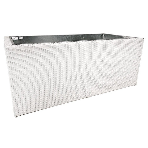 Outdoor Box Planter White