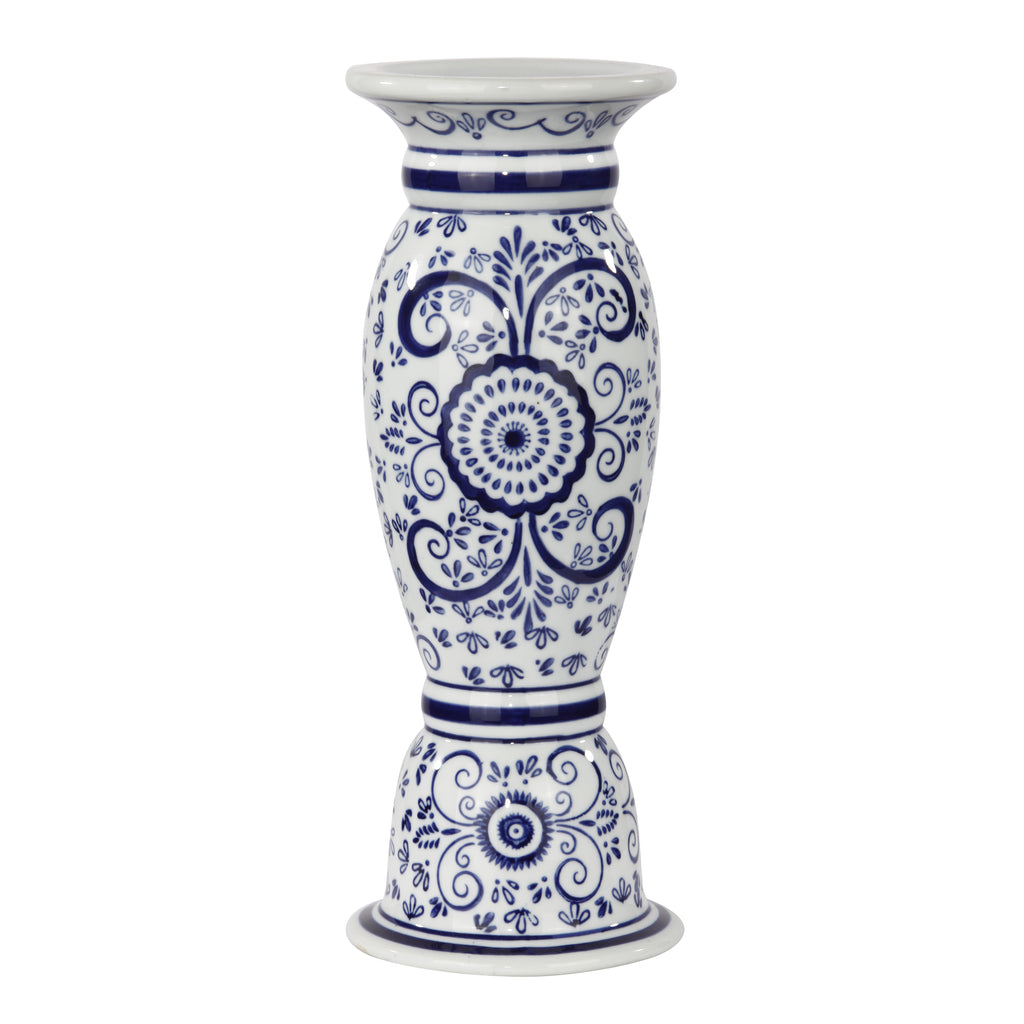 Oriental Blue and White CANDLEHOLDER