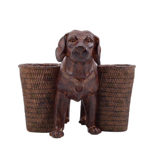 Image of Resin Dog Utility Cup