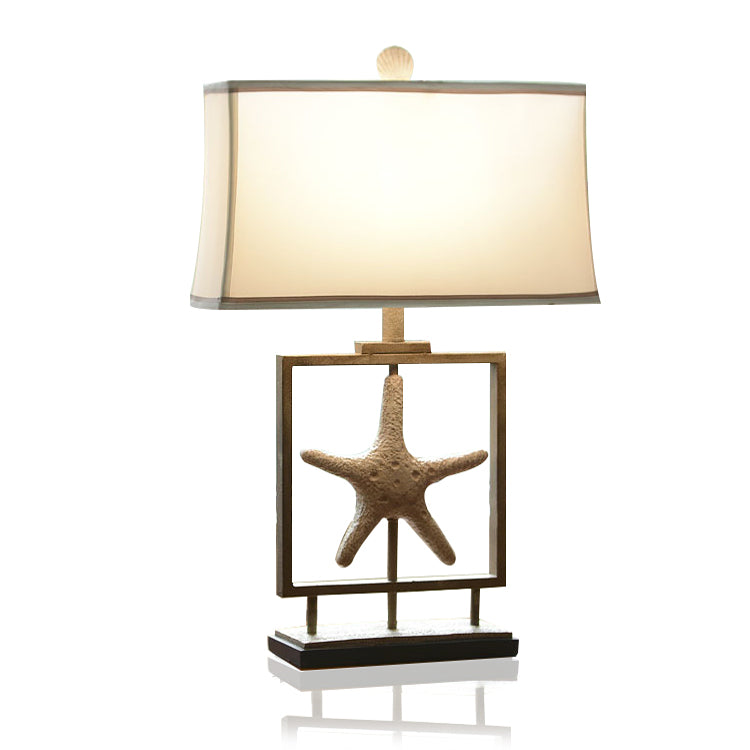 Starfish's Square Table Lamp