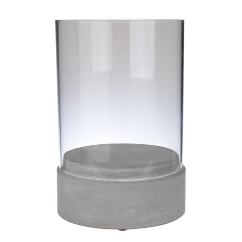 Cityscape Cement Candle Holder