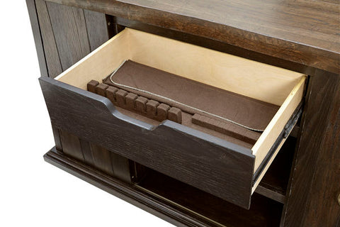 American Chapter - Live-Edge Buffet Server