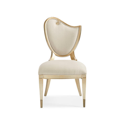 Image of Champagne Mist RIGHT SIDE CHAIR by Caracole®