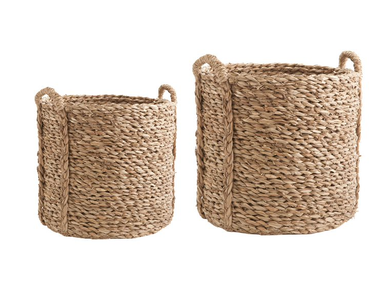 Seagrass & Water Hyacinth Baskets