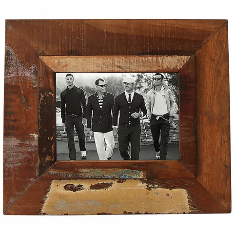 RECYCLED TIMBER PHOTO FRAME